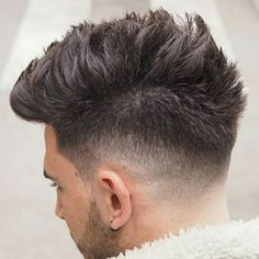 Messy Faux Hawk - Best Messy Hairstyles For Men: Cool Short, Medium and Long Messy Hair For Guys Mens Medium Length Hairstyles, Cool Hairstyles For Men, Haircuts For Men, Messy Hairstyles, Men's Haircuts, Popular Haircuts, Hairstyle Ideas, Long Messy Hair, Thick Hair