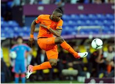With his 18 years Jetro Willems played a good game against Denmark yesterday - The Telegraph