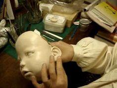 How to make Cernit  sculpt doll:サーニット粘土でOOAK baby