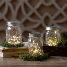 Decorative Pre-Lit Mason Jar | Kirklands