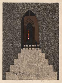 Kiyoshi Saito, Notre Dame, Paris