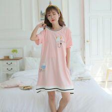 398c8691338cc EG_ LC_ Cartoon Maternity Sleepwear Pregnant Women Breastfeeding Pajamas  Nightgo