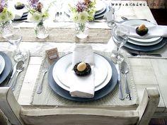 Spring Table Setting - http://akadesign.ca/spring-table-setting/