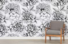 Browse & shop our range of stunning flower wallpaper & large scale floral mural designs. Get the perfect floral interior you desire.