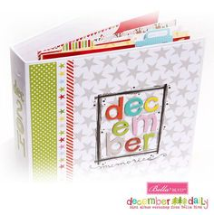 Bella Blvd Christmas Cheer collection. December Daily album workshop and kit for sale. Pre-IU (a Teresa Collins event) 2014. Designed by Stephanie Smokovich.