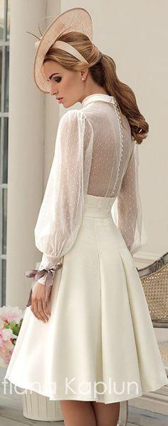 Tatiana Kaplun Bridal Collection 2016 – Lady of Quality - Wedding Dresses & Planning Wedding Robe, Princess Wedding Dresses, Modest Wedding Dresses, Trendy Dresses, Simple Dresses, Cute Dresses, Beautiful Dresses, Wedding Gowns, Fashion Dresses