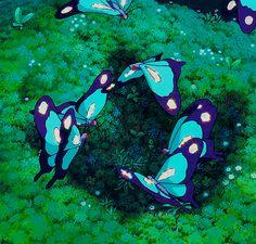 Butterflies - Princess Mononoke