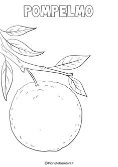 Disegni di Frutta Invernale da Colorare | PianetaBambini.it Cute Calendar, Art Sketches, Printables, Symbols, Letters, Costumes, Christmas Crafts, Needlepoint, Coloring Pages