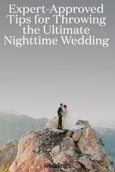 Getting married at night can be incredibly beautiful, but it does require somewhat different planning. Here, expert-approved tips for planning the ultimate nighttime wedding. Unique Wedding Venues, Wedding Trends, Night Time Wedding, Dark Color Palette, Martha Stewart Weddings, Indoor Wedding, Reception Table, Most Romantic, After Dark