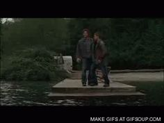 supernatural funny gif | Dean/Sammy - Supernatural - hands - funny - jump - animated gif