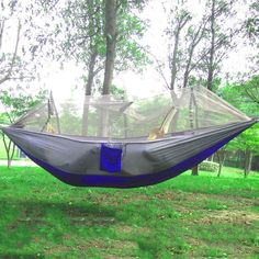 1pc Sleeping Hammock Hamaca Hamac Portable Garden Outdoor Camping Travel Furniture Mesh Hammock Swing Sleeping Bed Hot Selling Factories And Mines Sleeping Bags