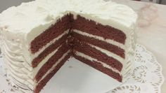 Ancient, classic, epic?  Red Velvet : beetroot sponge with ermine frosting.  Very different for sure!