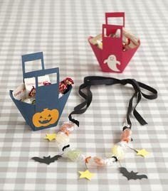 キュート&クール! 宝石みたいなキャンディネックレスと組立簡単お菓子入れ。/ハロウィーンを楽しもう!(「はんど&はあと」2011年10月号)
