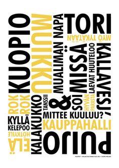 Kuopio 02 A3 | Ateljee Keltainen Talo Calm, Artwork, Design, Work Of Art, Auguste Rodin Artwork, Artworks, Illustrators