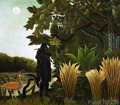 Henri J.F. Rousseau - La charmeuse de serpents