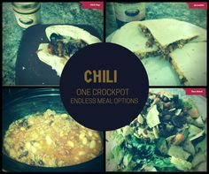 #Chili the most versatile meal.  Love how I look forward to leftovers and every one is a different flavour combination with Sunset.  #sunsetGourmet #savouryde