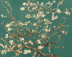 Vincent Van Gogh, Van Gogh Tapete, Van Gogh Famous Paintings, Van Gogh Flowers, Van Gogh Wallpaper, Asian Sculptures, Theme Pictures, Flower Artwork, Giant Paper Flowers