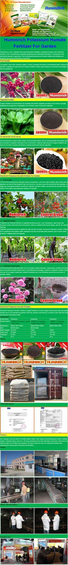 HuminRich SH9003 Potassium Humate Fine Powder