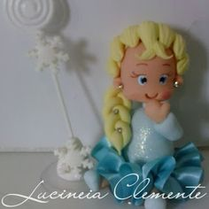 Brincando com Artelu: Lembrancinhas Frozen com  Porta Recados Encomendas e Orçamentos: lucineiaclemente@hotmail.com