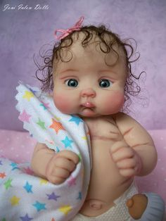 5 inch Artist Partial Sculpt OOAK Polymer Clay Baby Boy by Marvel Rostar. – Her … 5 inch Artist Partial Cute Baby Dolls, Reborn Baby Dolls, Baby Barbie, Dolly Doll, Baby Fairy, Clay Baby, Polymer Clay Dolls, Tiny Dolls, Little Doll