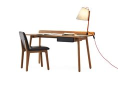 The Phil Desk is an excellent companion for your home office or study. Designed and made in Australia by Studio Pip using solid American Oak with a contrasting coloured drawer. Pairs nicely with the Phil Stool. Office Desk, Home Office, Wooden Desk, Diy Desk, Drawers, Dining Chairs, Interior, Furniture, Studio