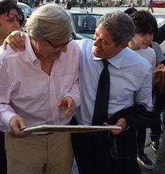 """Con vittorio Sgarbi a Canosa di Puglia """"museo dei Vescovi"""" #puglia #italy arte #pittura #pitturamaterica #picture #paint #sketh #colors"""