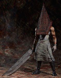 Silent Hill 2 Figma Figur Red Pyramid Thing 20 cm Silent Hill - Hadesflamme - Merchandise - Onlineshop für alles was das (Fan) Herz begehrt!