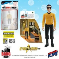 "#SDCC2016 Exclusives The #BigBangTheory / #StarTrek: The Original Series 3 3/4"" Figures  http://www.toyhypeusa.com/2016/06/24/sdcc-2016-exclusives-the-big-bang-theory-star-trek-the-original-series-3-34-figures/"