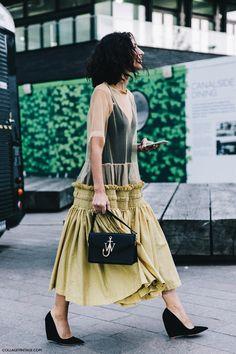 J.W Anderson handbag, the perfect accessory.
