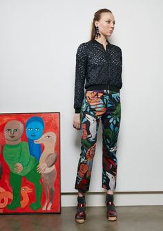 Gorman collection inspired by Mirka Mora art. I'll have to buy a lot of it...