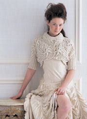 cabled bolero by norah gaughan, vogue kniting winter 2006/07 #Ravelry #Knitting