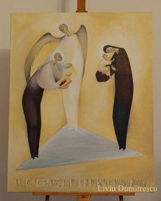 Saint Luke - Contemporary Religious Art