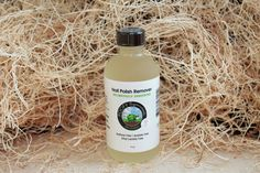Unscented Nail Polish Remover Rated 0 on EWG... this nail polish remover has NO chemical smell! Biodegradable, toxic free, earth friendly! Acemtone Free, Acetate Free, Ethyl Lactate Free!   4 oz.   Ingredients: Soybean Methyl Esters, Dimethyl Glutarate, Dimethyl Adipate, Dimethyl Succinate, Ethoxylated Tridecyl Alcohol (All rated 0 on SkinDeep!).   VEGAN & GLUTEN FREE
