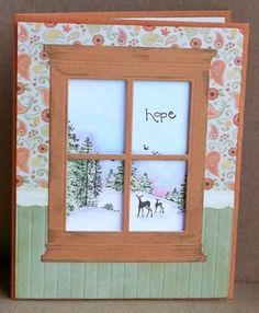 hope in winter by tessaduck - Cards and Paper Crafts at Splitcoaststampers