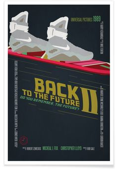 Back To The Future als Premium Poster von Aycan Elijah Yilmaz | JUNIQE
