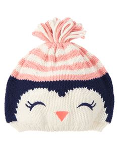 Penguin Sweater Hat at Gymboree