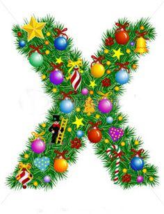 Abecedario de Navidad -