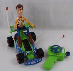 Disney Pixar Toy Story 2 RC Remote Control Car Buggy w/ Woody Thinkway Toy #ThinkwayToys