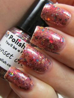 Sunset Over Sedona made by Hit Polish Nail Lacquer