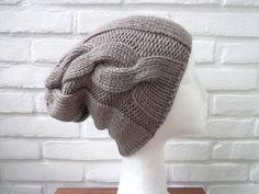 Mützen - JULES Beanie Merino 100% feinste Wolle - ein Designerstück von flowerchildflowerchild bei DaWanda