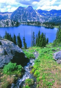 Blue Lake, Colorado.  Hiked this mountain!