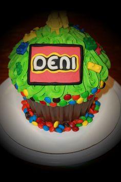 Lego Giant Cupcake