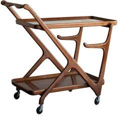 15 Ideas home bar trolley tea cart Bar Trolley, Serving Trolley, Food Trolley, Kitchen Trolley, Drinks Trolley, Alcohol Cabinet, Vintage Bar Carts, Trendy Bar, Table Bar