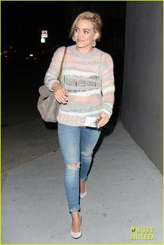Hilary Duff Treats Herself to a Vegan Dinner at Crossroads! | Hilary Duff Photos | Just Jared