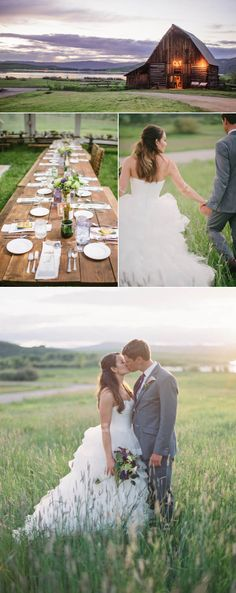 This rustic, summer wedding at Catamount Ranch in Steamboat Springs, Colorado, was absolutely stunning.