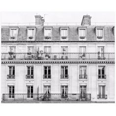 """""""Days in Paris"""" - Photography Limited Edition Art Print by Jessica... (€20) ❤ liked on Polyvore featuring home, home decor, wall art, photography wall art, modern wall art, modern home accessories, modern home decor and modern wedding invitations"""