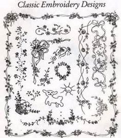 Shadow Embroidery Patterns Free