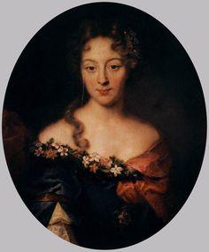 Pierre Mignard - Portrait of Françoise-Marguerite, Countess of Grignan