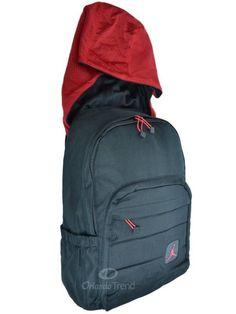 Nike Air Jordan Backpack Hoody Bag Laptop Tablet Black Red Men Women Boy  Girl  Nike 6376698d73