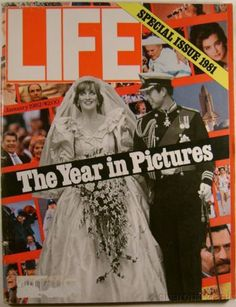 LIFE Magazine Year In Pictures 1981 January 1982 Princess Diana Royal Wedding